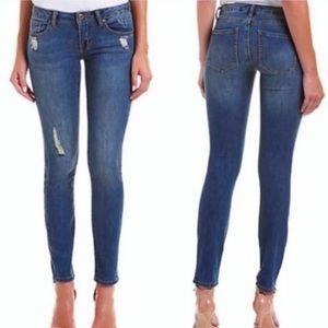 CAbi Destroyed Skinny Jeans Size 2